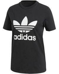 adidas Originals - Big Trefoil T-shirt - Lyst