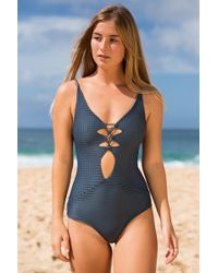 0d1794b745 Acacia Swimwear 2018 Mauka One Piece In Long Island in Blue - Lyst