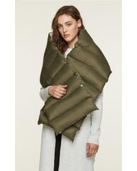 SOIA & KYO - Soia&kyo - Bella Water-repellent Two-way Down Puffy Scarf - Lyst