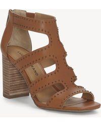 Lucky Brand - Tahira Block Heel Sandal - Lyst