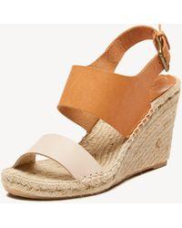 Soludos - Bi-color Wedge Platform Sandal - Lyst