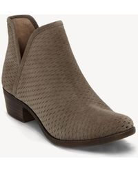 Lucky Brand - Baley Ankle Bootie - Lyst