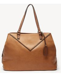 Sole Society - Ginny Tote Fabric Tote - Lyst