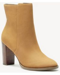 Sole Society - Micah Stacked Heel Bootie - Lyst