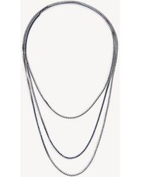Sole Society Womens Dainty Layered In Color: Crystal Necklace One Size From Sole Society OWX17