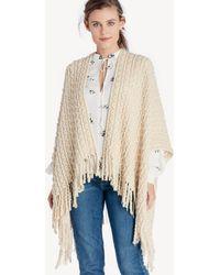 Sole Society - Knit Kimono - Lyst