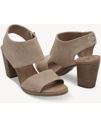 TOMS - Majorca Cutout Sandal Two Piece Sandal - Lyst