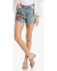 EVIDNT - Brunswick Embroidered Short - Lyst