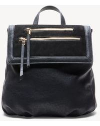 Sole Society - Chele Backpack Genuine Suede Mix Backpack - Lyst