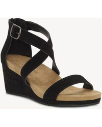 Lucky Brand - Kenadee Criss Cross Wedge - Lyst