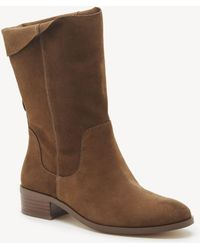Sole Society - Calanth Slouchy Bootie - Lyst