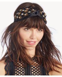 Sole Society - Embellished Pearl Headband - Lyst