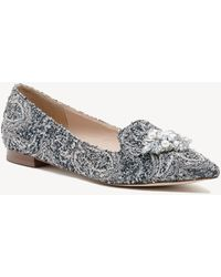 Sole Society - Libry Bejeweled Flat - Lyst