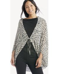 5fc402153 Sole Society - Ikat Printed Cocoon Kimono - Lyst