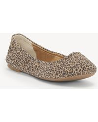 Lucky Brand - Emmie Foldable Ballet Flat - Lyst
