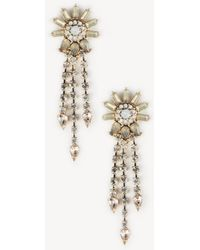 Sole Society Womens Victorian Crystal Statement Earrings Multi One Size From Sole Society Ii4mk1G