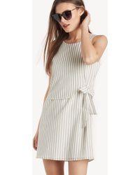 Greylin - Chelsea Front Tie Dress - Lyst