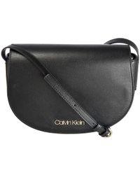 Calvin Klein - Frame Saddle Handbag - Lyst
