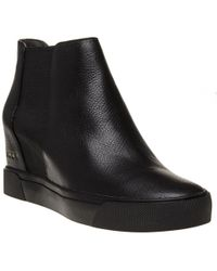 DKNY - Chelsea Trainer Wedge Boots - Lyst