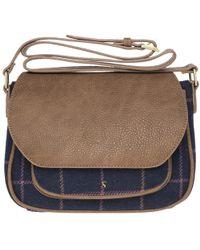 Joules - Darby Tweed Handbag - Lyst