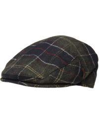 Barbour - Classic Wool Tartan Flat Cap - Lyst