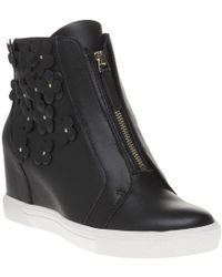 DKNY - Connie Wedge Trainer Trainers - Lyst