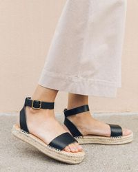 c980f8ca9826 Soludos Braided Slide Sandal in Black - Lyst