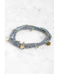 South Moon Under - Eliza Stretch Wrap Bracelet - Lyst