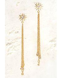 South Moon Under - Gold Soleil Earrings - Lyst