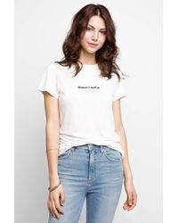 Mate - Because I Said So Knit Tee - Lyst