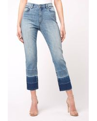 056352e35c3d22 Blank NYC - The Madison Hi Rise Straight Leg Crop Jean In Shaken, Not  Stirred