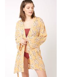 9ace514913 Billabong - Ocean Sky Robe Cover Up Yelm - Lyst