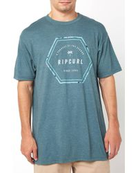 South Moon Under - Henry Heather Graphic Tee - Lyst