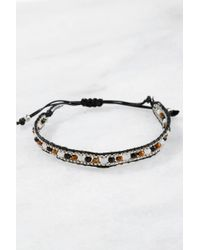 South Moon Under - Adjustable Beaded Bracelet - Lyst