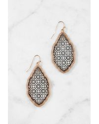 South Moon Under - Filigree Shield Drop Earring - Lyst