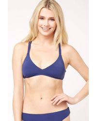 defa8775baf South Moon Under - Strappy Midnight Bralette Bikini Top - Lyst