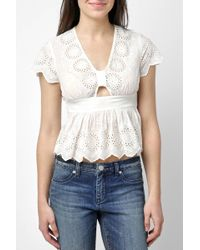 South Moon Under - Truly Yours Top - Lyst