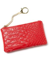 South Moon Under - Lipstick Red Card Holder - Lyst