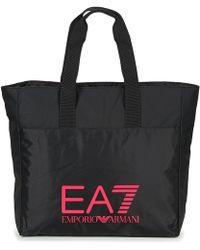 EA7 - Train Prime U Shopping Bag A Women's Shopper Bag In Black - Lyst
