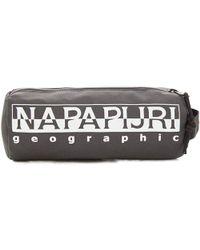Napapijri - HAPPY PENCIL CASE 1 hommes Trousse en Gris - Lyst