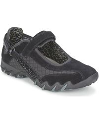 Allrounder By Mephisto - Niro Diamond Women's Sports Trainers (shoes) In Black - Lyst