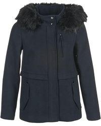 Esprit | Roplifa Women's Coat In Blue | Lyst