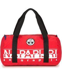 Napapijri - Bering 1 Packable Duffle Bag In Red - Lyst