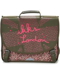 IKKS - London Cartable 41cm Girls's Briefcase In Green - Lyst