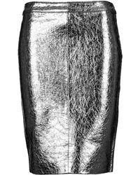 American Retro - Dorotha Women's Skirt In Silver - Lyst