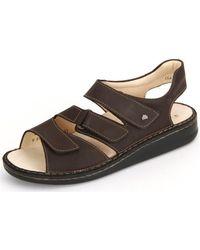 Finn Comfort - Gotland Ebony Buggy Men's Sandals In Brown - Lyst