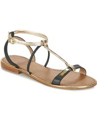 Les Tropéziennes Par M Belarbi - Haquina Women's Sandals In Black - Lyst
