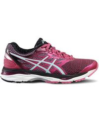 Asics - Gel Cumulus 18 Women's Shoes (trainers) In White - Lyst