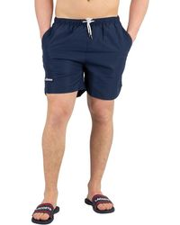 3b7d9e75aa Jack Wolfskin Baywim Shorts in Blue for Men - Lyst