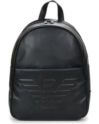 e8dd935079f2 Emporio Armani Backpack Bags Men in Black for Men - Lyst